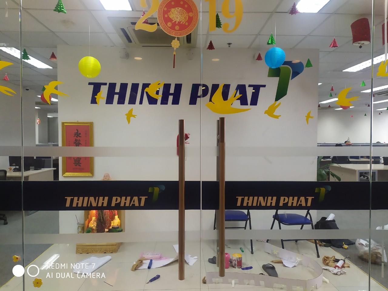 Dán logo decal cho Thịnh Phát