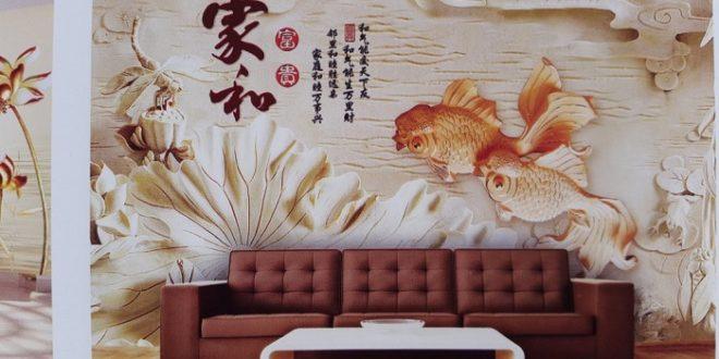 Những mẫu tranh dán tường được ưa chuộng nhất hiện nay