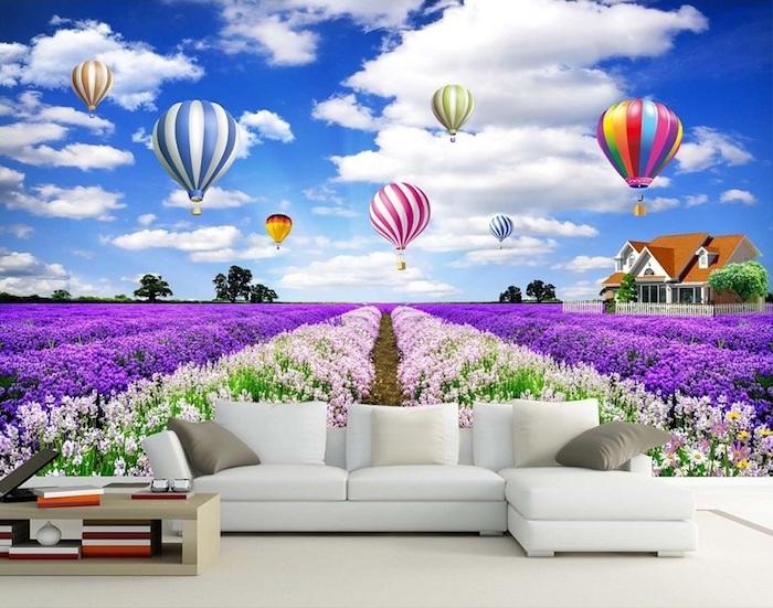 Hiệu ứng của tranh gạch 3D khiến phòng khách nhà bạn thêm đẹp mắt