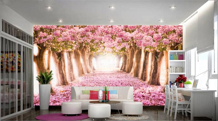 Lựa chọn tranh gạch 3D phù hợp với không gian phòng khách