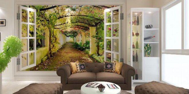 Bí quyết chọn tranh gạch 3D phòng khách đẹp mắt