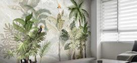 Giấy dán tường 3D – Xu hướng trang trí theo phong cách hiện đại