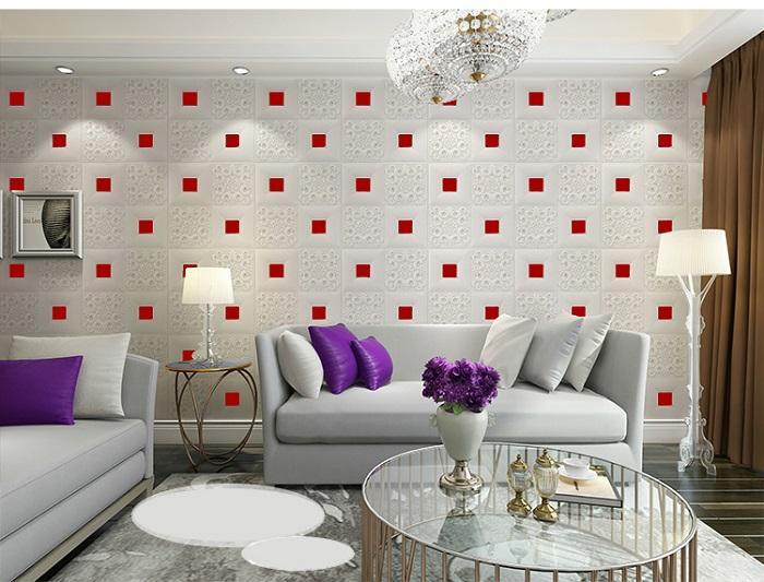 Công trình dán tường với lớp keo phủ thêm mang tới tính thẩm mỹ và độ bền cao hơn