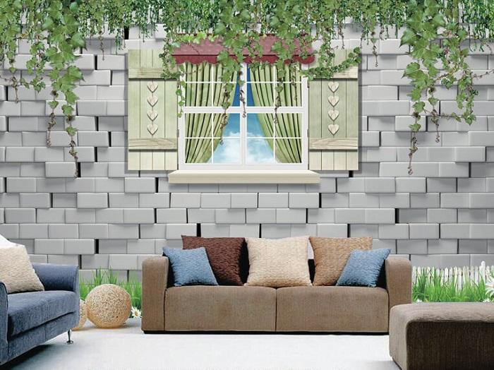 Không gian sang trọng hơn với giấy dán tường đẹp