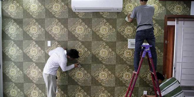 Quy trình thi công giấy dán tường đúng kỹ thuật, chuyên nghiệp